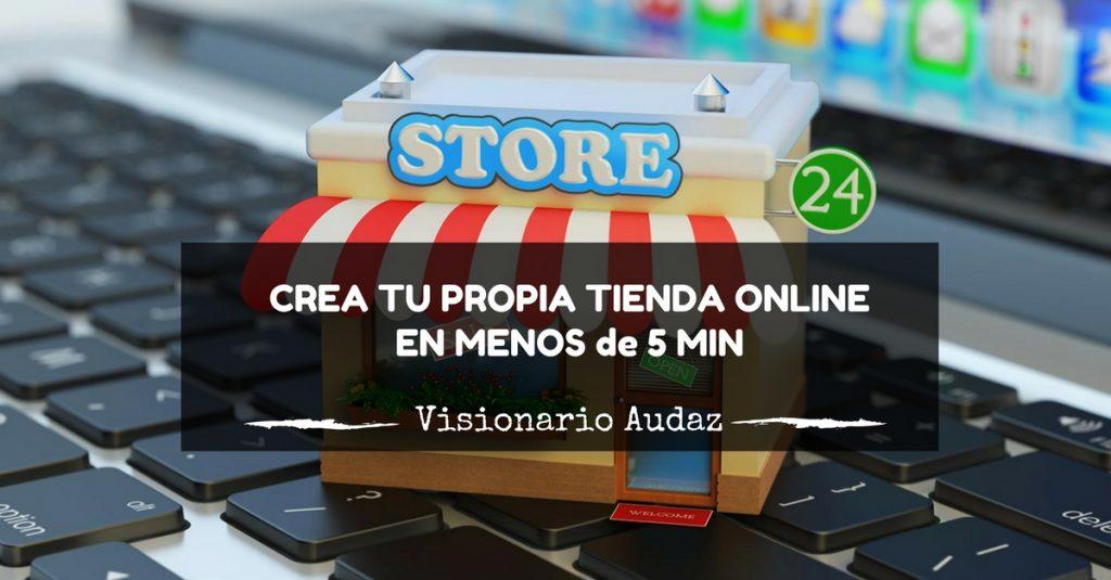 como crear tu propia tienda online
